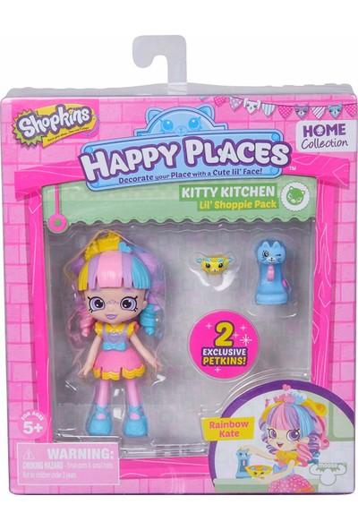 Shopkins Cicibiciler Happy Places Mini Rainbow Kate Bebekleri