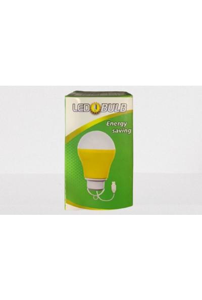 Led Bulb Ultra Enerji Tasarruflu Usb ile Çalışan Led Ampul