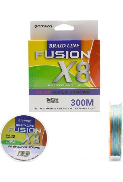 Remixon Fusion 8x 300M Multi Color Ip Misina