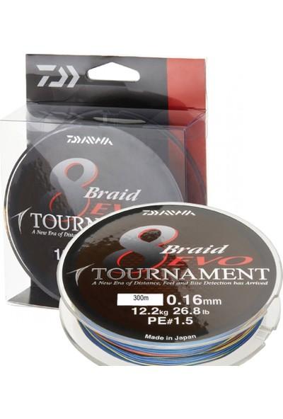 Daiwa Tournament 8b Evo Multi Color 300M Ip Misina