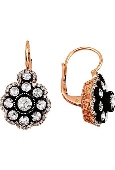 Clavis Jewelry Pırlanta ve Elmas Taşlı Küpe