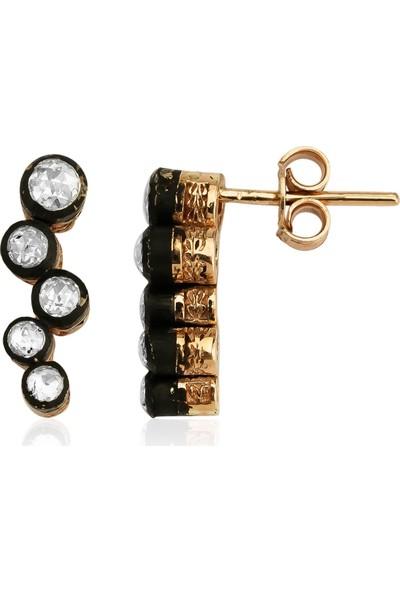 Clavis Jewelry Elmas Taşlı Küpe