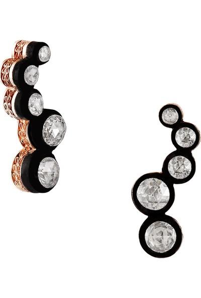 Clavis Jewelry Elmas Taşlı Su Küpe