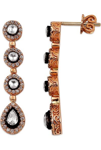 Clavis Jewelry Elmas ve Pırlanta Taşlı Küpe