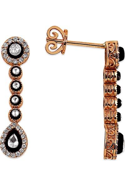 Clavis Jewelry Damla Kesim Elmas ve Pırlanta Taşlı Küpe