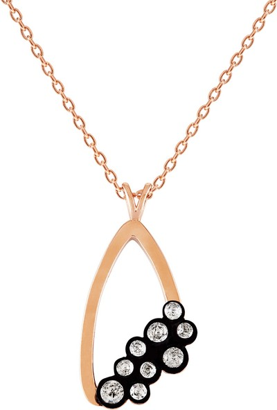 Clavis Jewelry Elmas Taşlı Figür Kolye