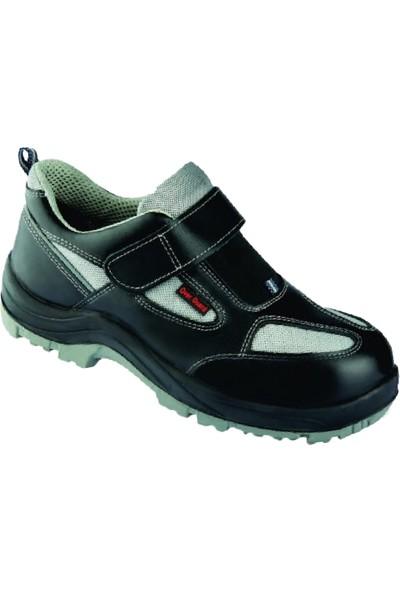 Overguard Sl 401 S1 Deri Çelik Burunlu Iş Güvenlik Ayakkabısı