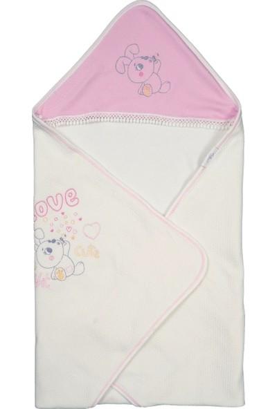 Tomuycuk Love Rabbit Soft Pamuk Battaniye