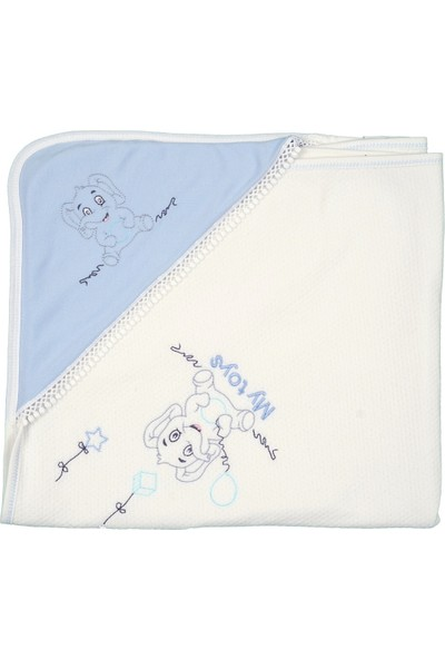 Tomuycuk Küçük Fil Soft Pamuk Battaniye