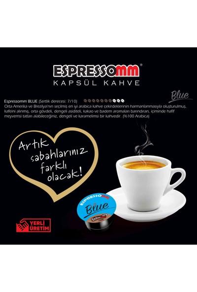 ESPRESSOMM Espressomm® Blue Kapsül Kahve-Kafeinsiz! (100 Adet) - Tchıbo® Uyumlu*