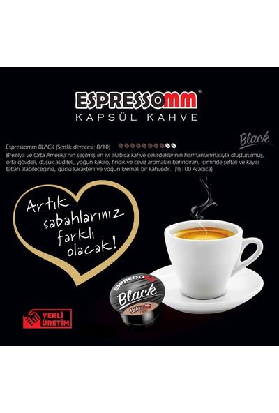 ESPRESSOMM Espressomm® Black Kapsül Kahve (10 Adet) - Tchıbo® Uyumlu*