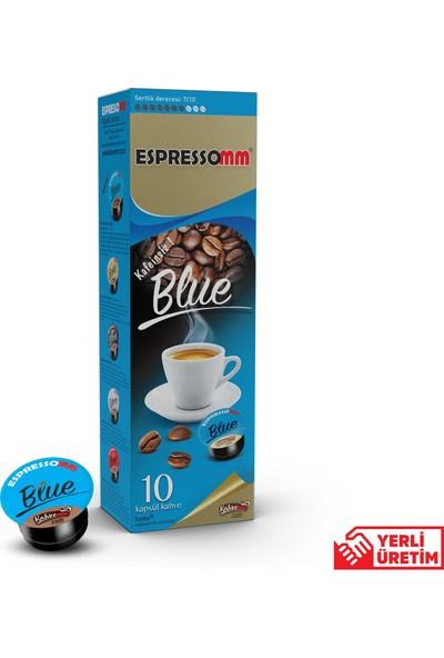 ESPRESSOMM Espressomm® Blue Kapsül Kahve-Kafeinsiz! (10 Adet) - Tchıbo® Uyumlu*
