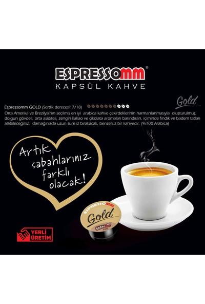 ESPRESSOMM Espressomm® Gold Kapsül Kahve (100 Adet) - Tchıbo® Uyumlu*