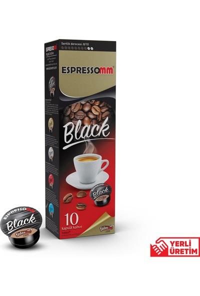 ESPRESSOMM Espressomm® Black Kapsül Kahve (100 Adet) - Tchıbo® Uyumlu*