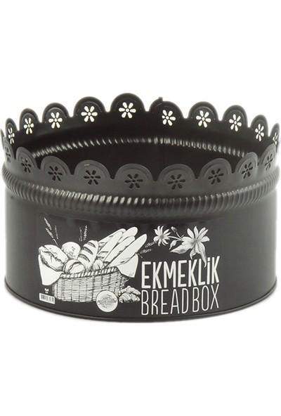 Yıldıray Metal Ekmek Kutusu Siyah