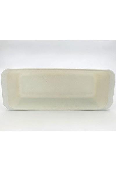 Paşabahçe Borcam Yapışmaz Seramik Kaplama Baton ve Dilimli Kek Kalıbı 59104G-59114G Beyaz