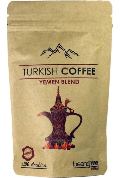 Beanofme Türk Kahvesi Yemen Harman 3X100 gr