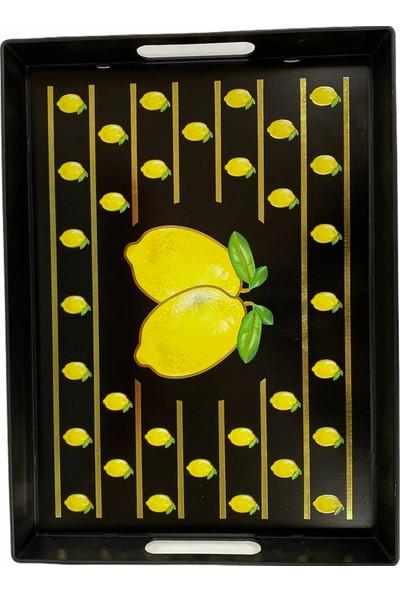Ledshop Limon Desenli Tepsi