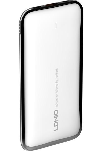 Ldnıo 10000MAH Paslanmaz Çelik Powerbank - PQ1017