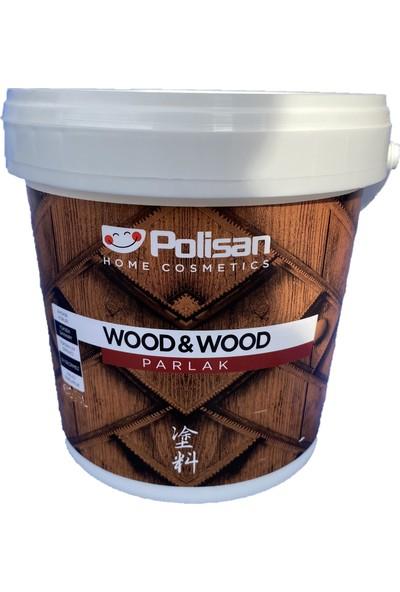 Polisan Wood&wood Anti Aging Su Bazlı Vernik Renksiz Parlak 2,5 Lt