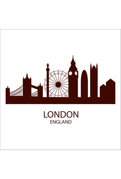 Technopa London Folyo Sticker 88 40 cm Uzunluk