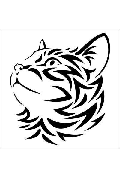 Technopa Kedi Folyo Sticker 140 40 cm Uzunluk