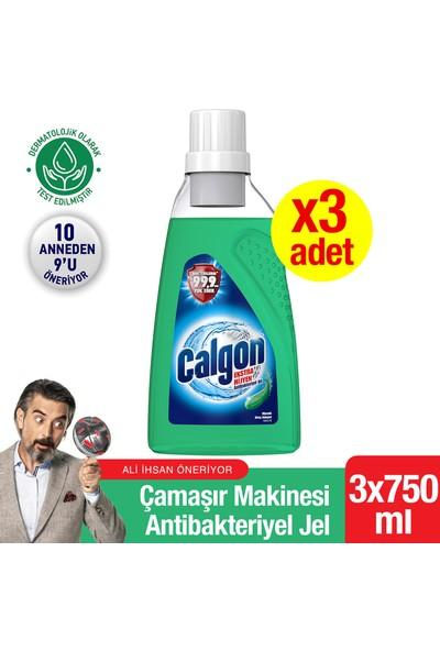 Calgon Ekstra Hijyen Çamaşır Makinesi Antibakteriyel Jel 3x750 ml