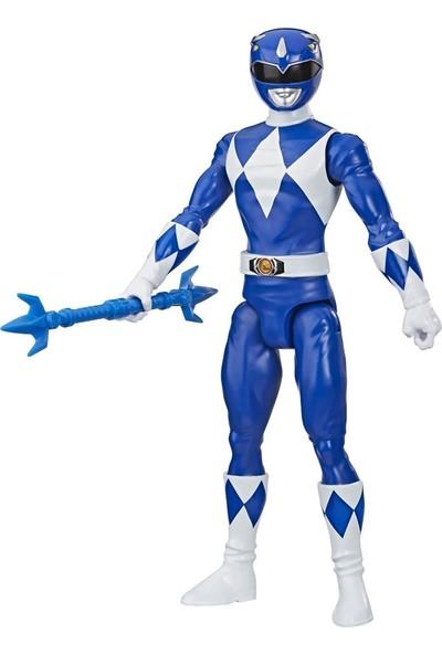 Power Rangers Beast Morphers Dev Figür E5914 E8903 Mighty Morphin Blue Ranger