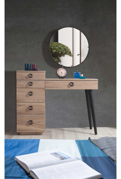 Feyza Mobilya Premium 4 Kapılı Bazalı Yatak Odası Takımı