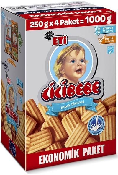 Eti Cicibebe Bebek Bisküvisi 1000 g
