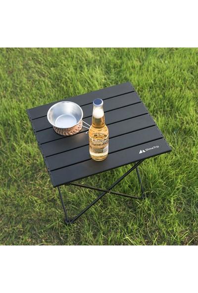 Shinetrip Açık Katlanır Piknik Masası Koltuk Cepli Kamp Masası