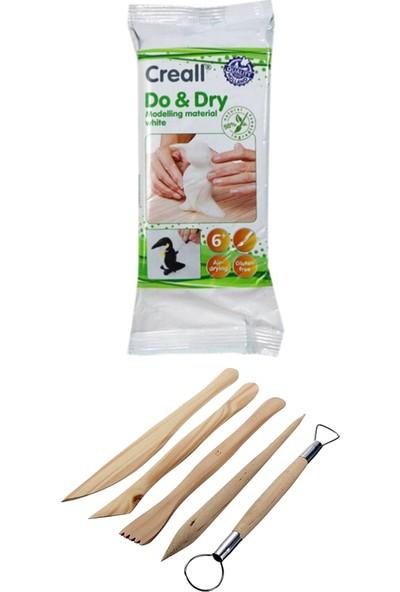 Bal Sanat Creall Do & Dry Seramik Hamuru Beyaz 500 Gram