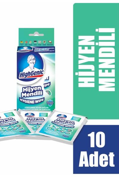 HighGenic Hijyen Mendili 10'lu Paket