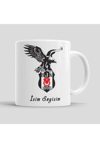 Stia Beşiktaş Kişiye Özel Kupa Bardak