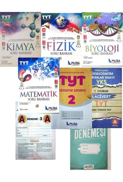 Muba Yayınları TYT 4'lü Sayısal Soru Bankası Set (Aydın+Gür+Soru Kalesi+Okyanus Denemeli)
