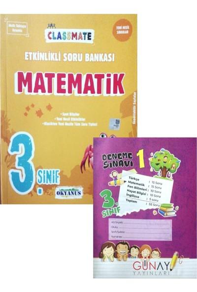 Okyanus Yayınları 3. Sınıf Matematik Soru Bankası (Meraklı Zihinler Denemeli)