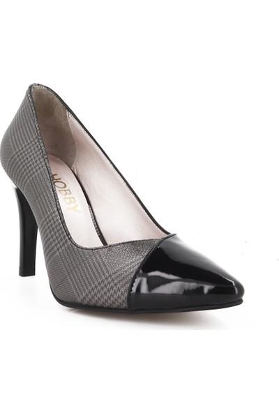 Hobby Siyah Stiletto Kadın Ayakkabı 685