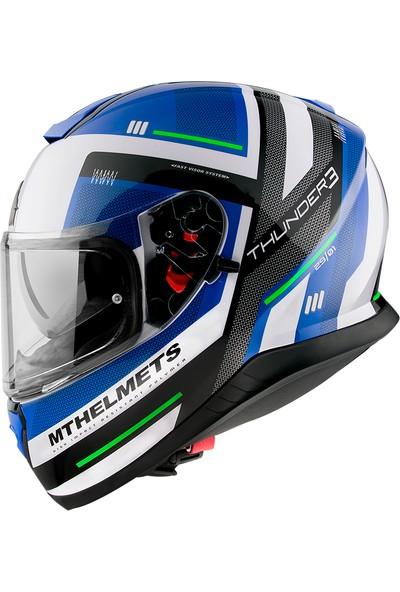 mt Thunder3 Sv Carry C7 Full Face Motosiklet Kaskı L