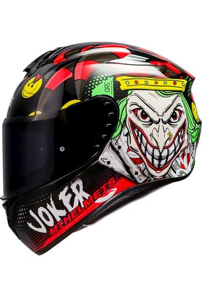 mt Targo Joker A1 Full Face Motosiklet Kaskı M