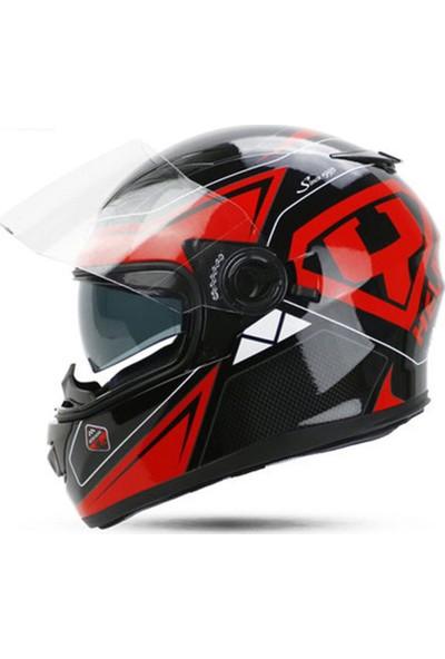 Yohe Y-970 Life Full Face Motosikelet Kaskı XL