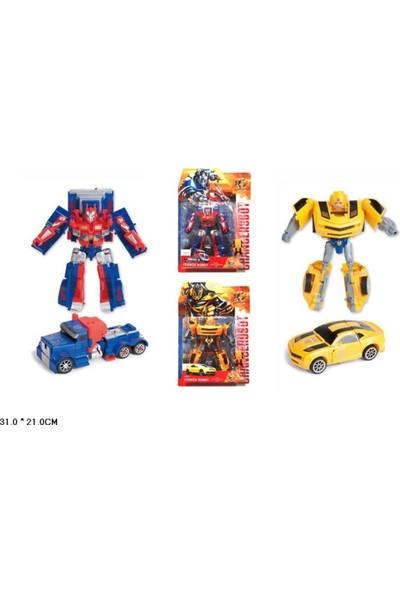 Toru Toys Torutoys Kartelada Robota Dönüşen Araçlar