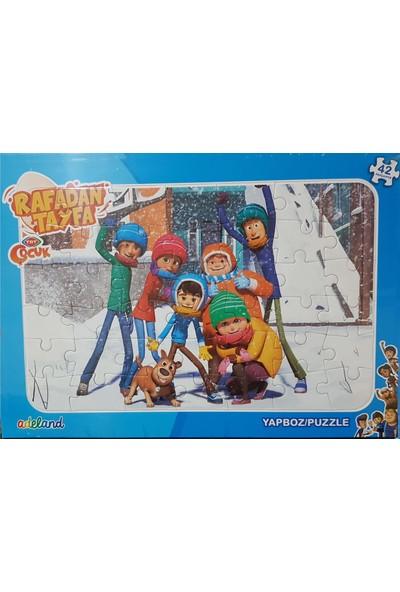 Adeland Trt Çocuk Rafadan Tayfa 42 Parça Yapboz Puzzle