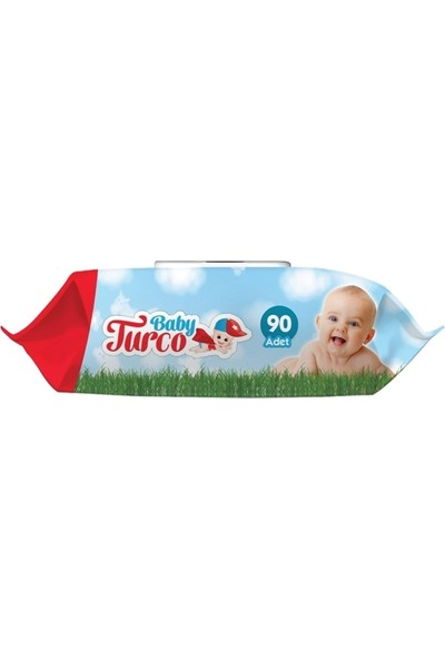 Baby Turco Islak Mendil Havlu 90 Yaprak
