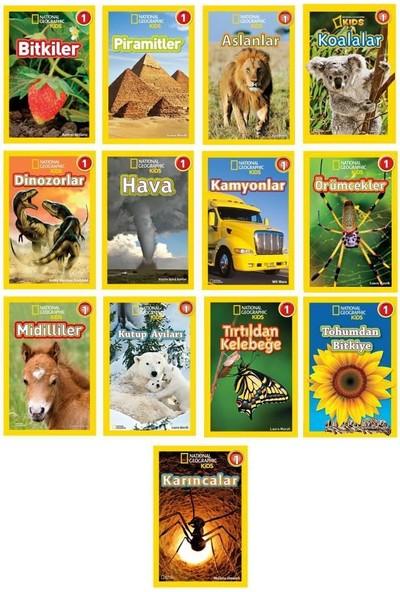 Ng Kids Okuma Serisi Seviye 1 Seti 13 Kitap