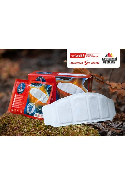 The Heat Company 4 Gözlü 8 Saat Yapışkanlı Shoulderwarmers Boyun Isıtıcı Tek Adet The Heat Company