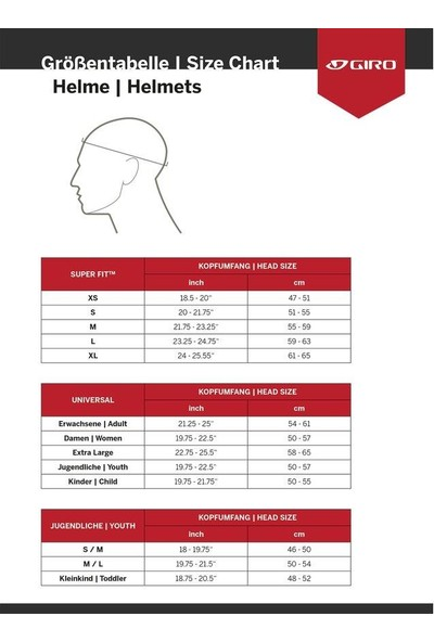 Karışık Giro Register Mat Kırmızı Kask 54-61 cm