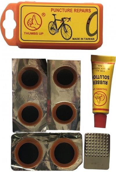 Karışık Thumbs Up Bisiklet Yama Seti YP3205A