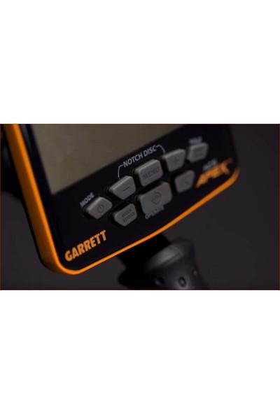 Garrett Ace Apex Basic ( 6X11 İnch Dd Viper Başlık) Define, Altı