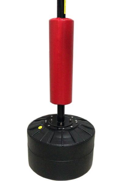 Leyaton Hız Topu Boks Kapsamlı Döner Çubuk Hedefi 1.60 cm -200 cm Yükseklik Siyah