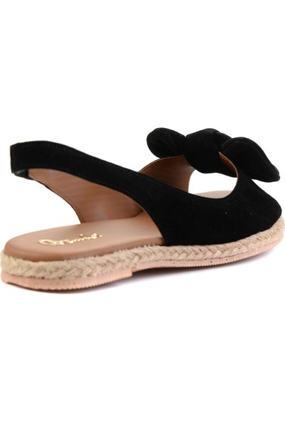 Bambi̇ Siyah Kadın Sandalet